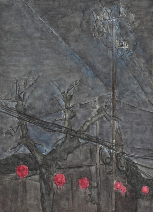 22.연등, 73100, 캔버스 위에 유채, 2011
