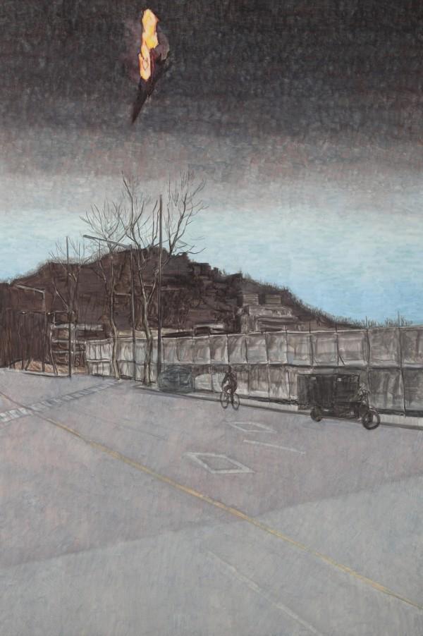 13.세계배III-연희104고지, 130194, 캔버스 위에 유채, 2011