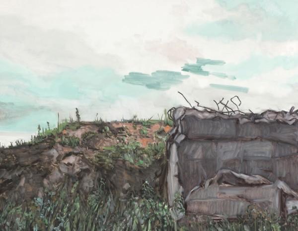 7.知字풍경, 11891, 캔버스 위에 유채, 2011