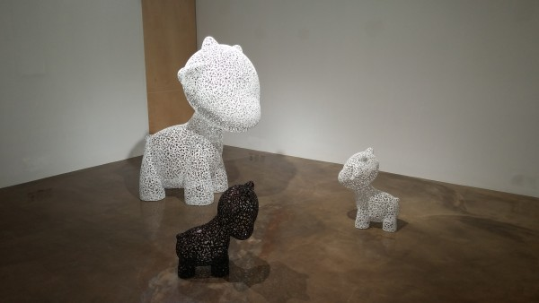 Toy-family _ steel, car paint_ 2013