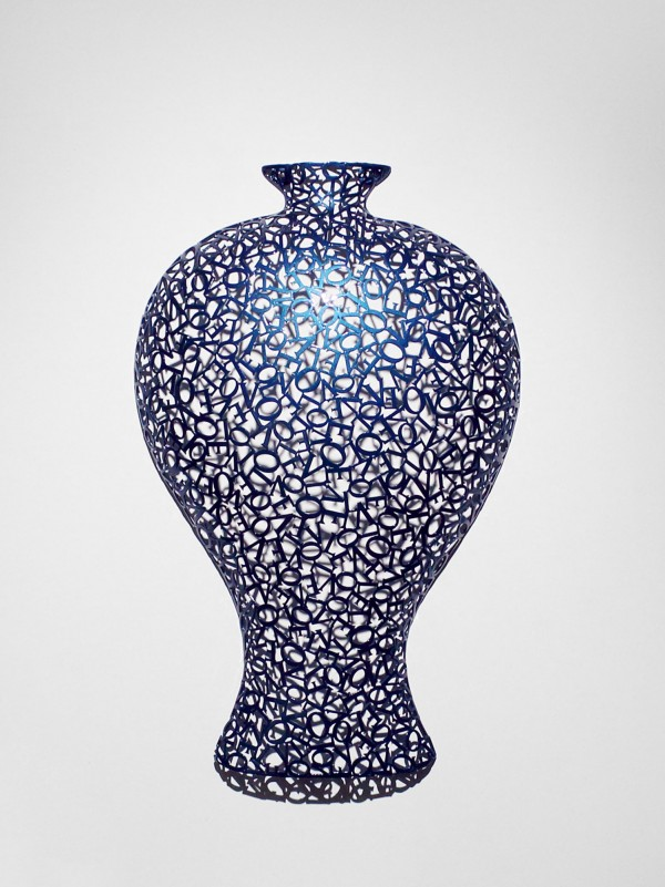 Pottery-love(130926) _steel, car paint_72x45x15cm_2013