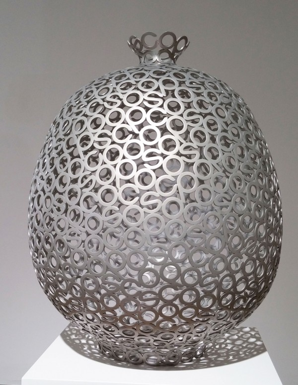 Pottery-posco(131019)-steel, car paint_ 58x41x41cm_2013